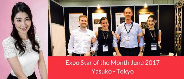 Yasuko, Tokyo, Promotion Staff