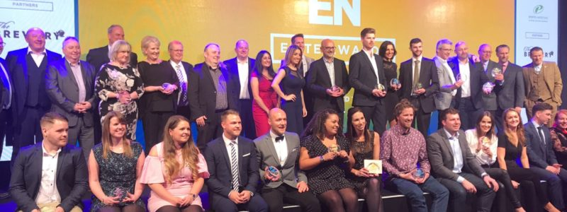 Expo Stars named Best Staffing Company 2017 at Exhibition News Elite Awards