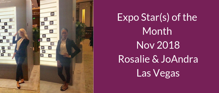 Expo Star of the Month Nov 2018