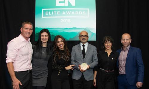 Best Staffing Company. Exhibition News Elite Awards 2018, Best Staffing Company